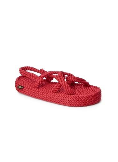 Nomadic Republic Sandalet Kırmızı